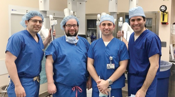 New robotic surgery fellowships fill demand for training
