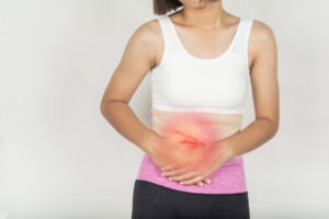 woman with gallbladder surgery